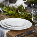 Pearl Charger Plate from belleandjune.com | Tabletop