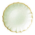 Pastel Glass Pistachio Dinnerware from belleandjune.com | Dinnerware