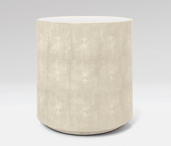 Cara Side Table Ivory