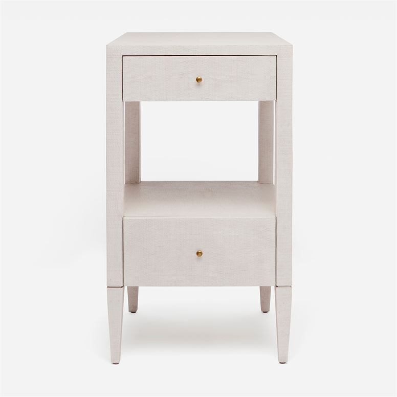 Conrad Single Nightstand French Gray