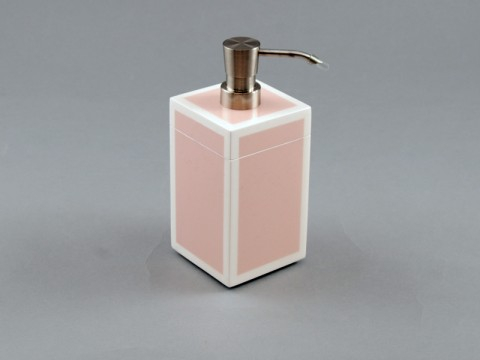 Pink and White Lotion Pump