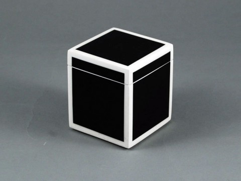 Black and White Canister