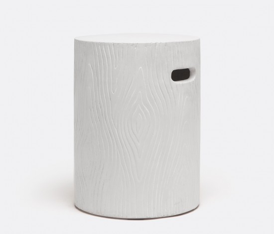Bernt Stool/Table in Ivory