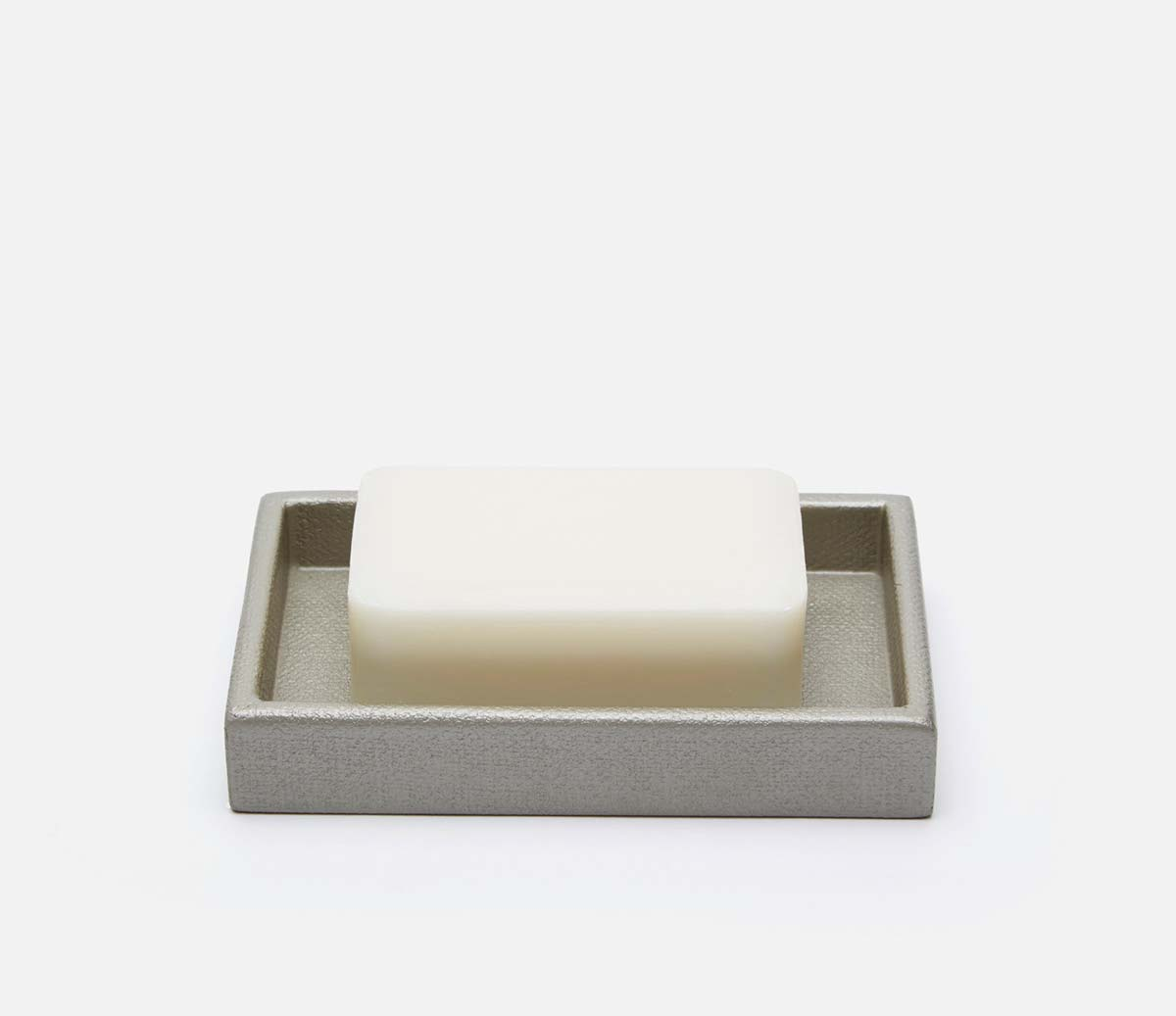 Dannes Light Gray Soap Dish
