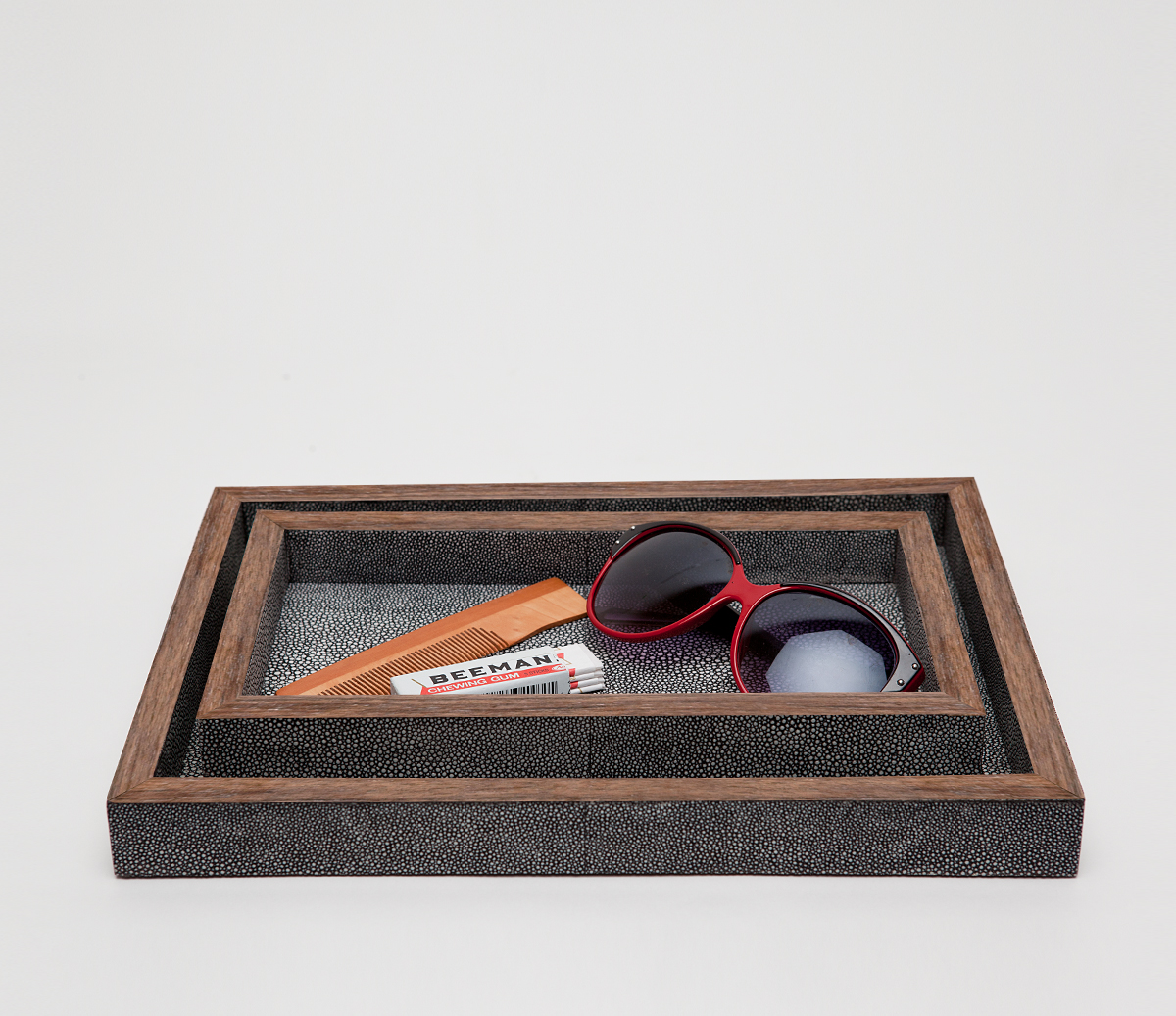 Manchester Tray Set Cool Grey