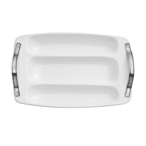 Arte Italica Tuscan Large Divided Tray