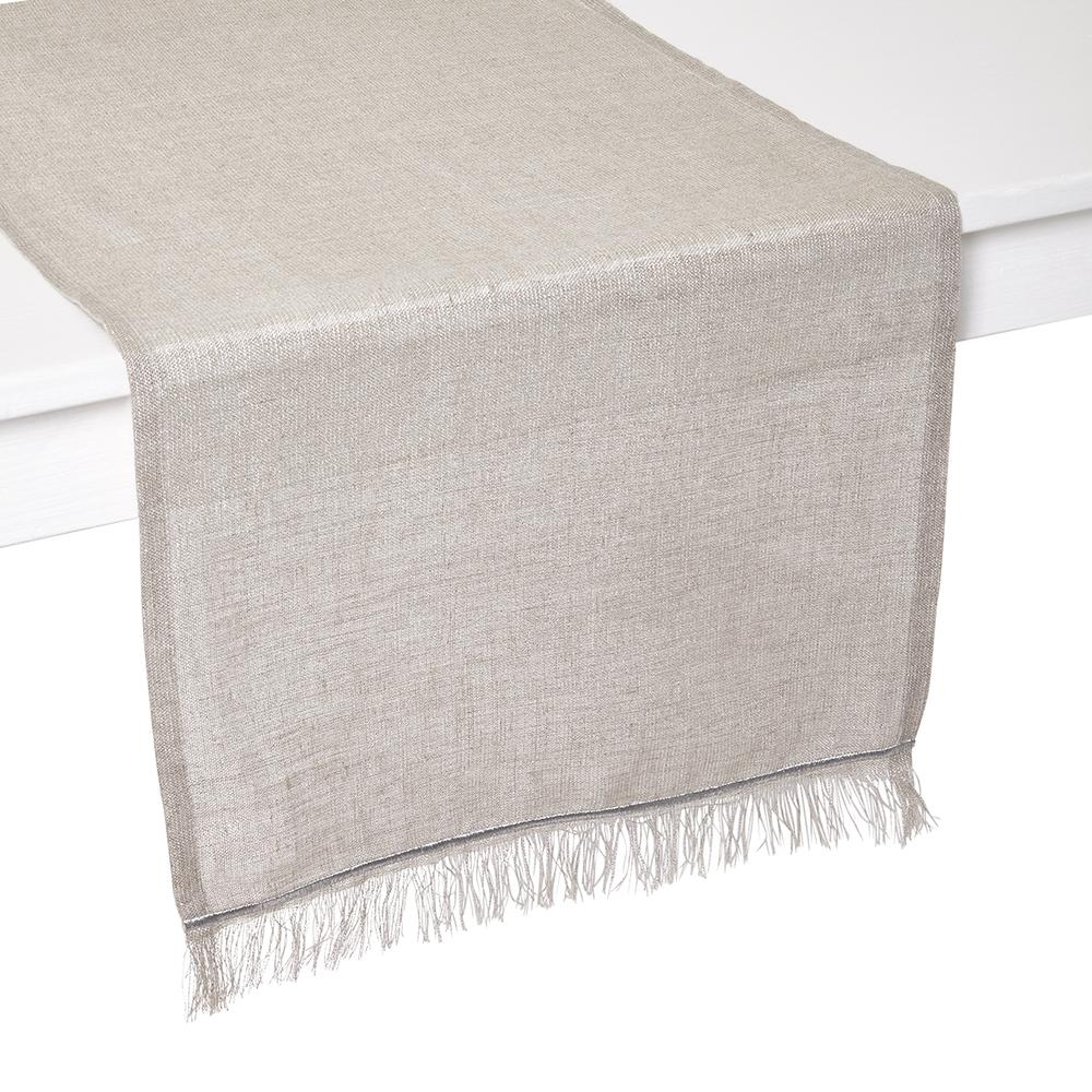 Venice Silver Table Runner