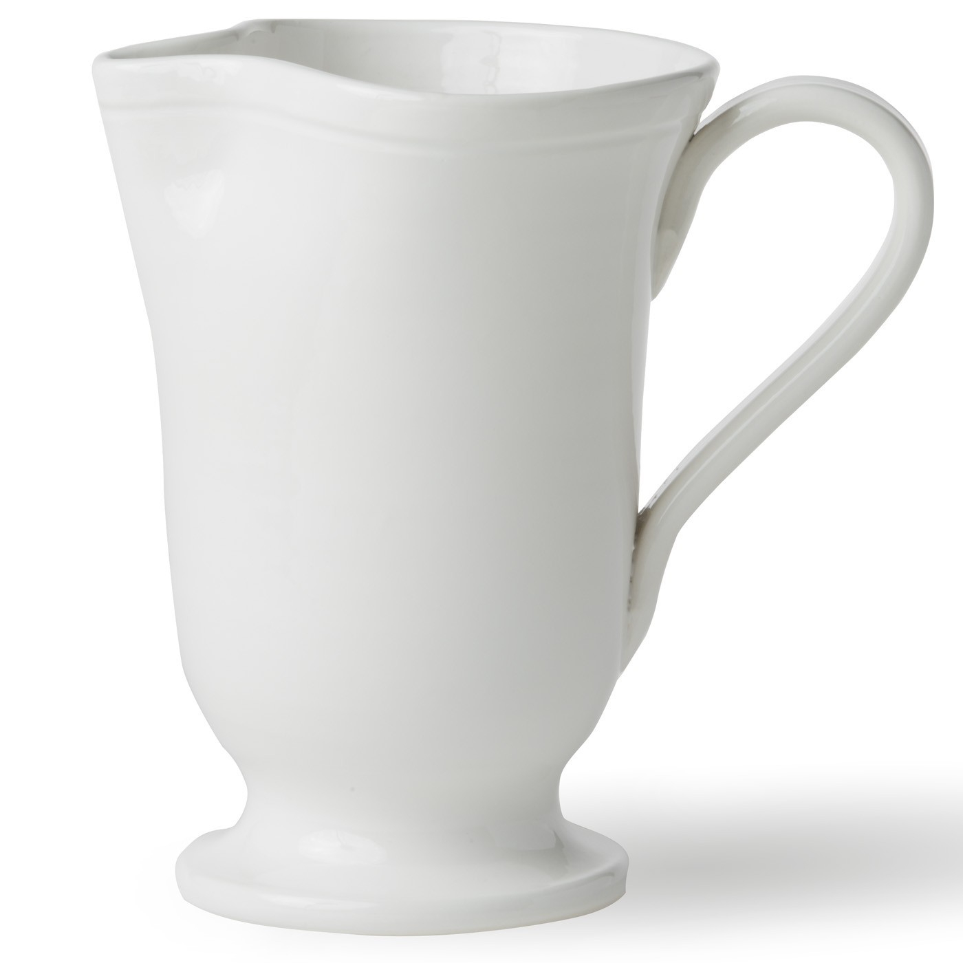 Viva Fresh White Large Footed Pitcher